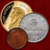 Sammelgebiet Münzen